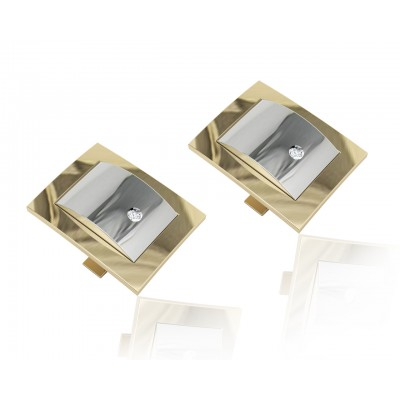 Arthur Gold Cufflink for Men